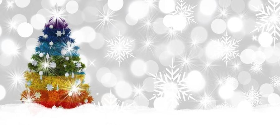 Rainbow Christmas Tree - LondonIrish LGBT network